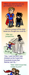 Weechester Superheroes by blackbirdrose