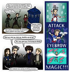 DW: Pride and Prejudice and Attack Eyebrows