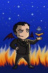 A Snowflake's Chance In Hell... by blackbirdrose