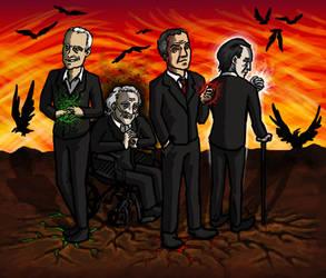 SPN: Pestilence Famine War Death by blackbirdrose
