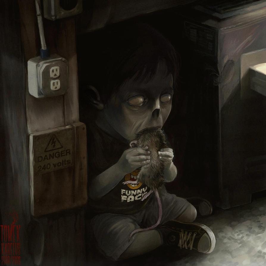 basement snack by karelias on deviantart