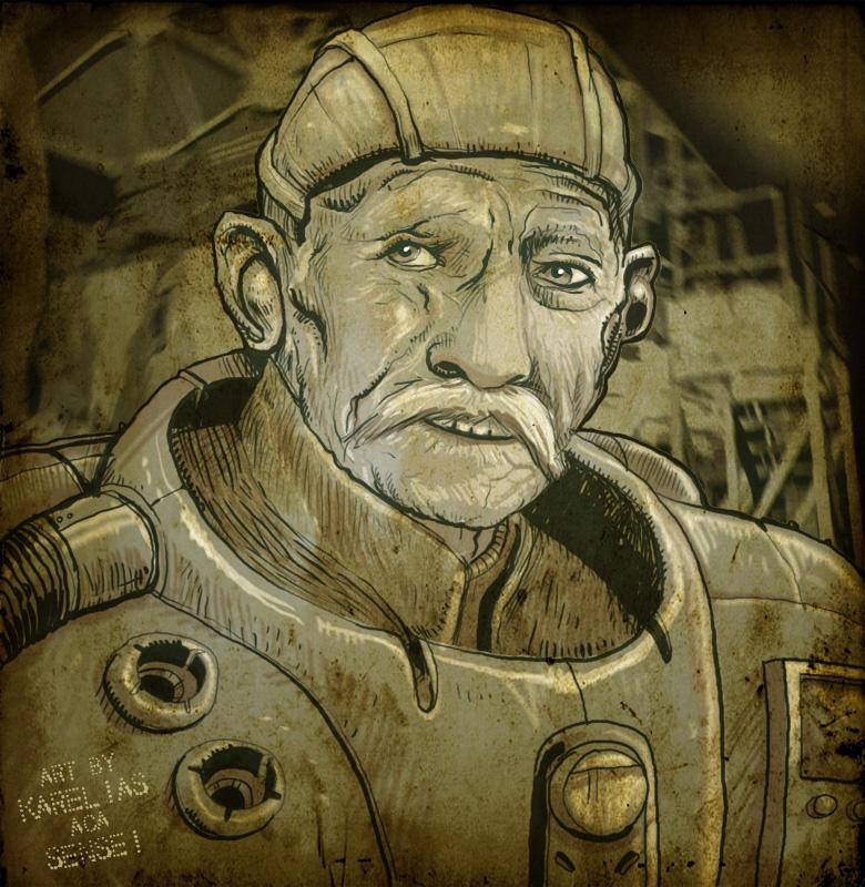goodbye old astronavigator by Karelias