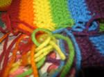 Rainbow Scarf II by insilverscript