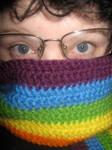 Rainbow Scarf III by insilverscript