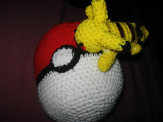 Pikachu On a Ball by insilverscript