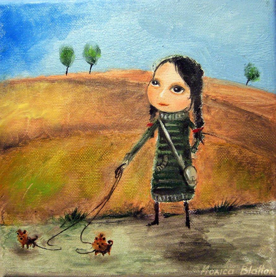 Little Lady by Monica-Blatton