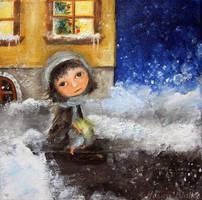 The Little Match Girl by Monica-Blatton