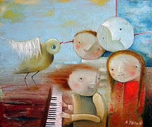 Sonata by Monica-Blatton