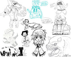 Sketchbook Compilation