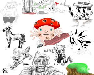 Sketchbook Compilation 2