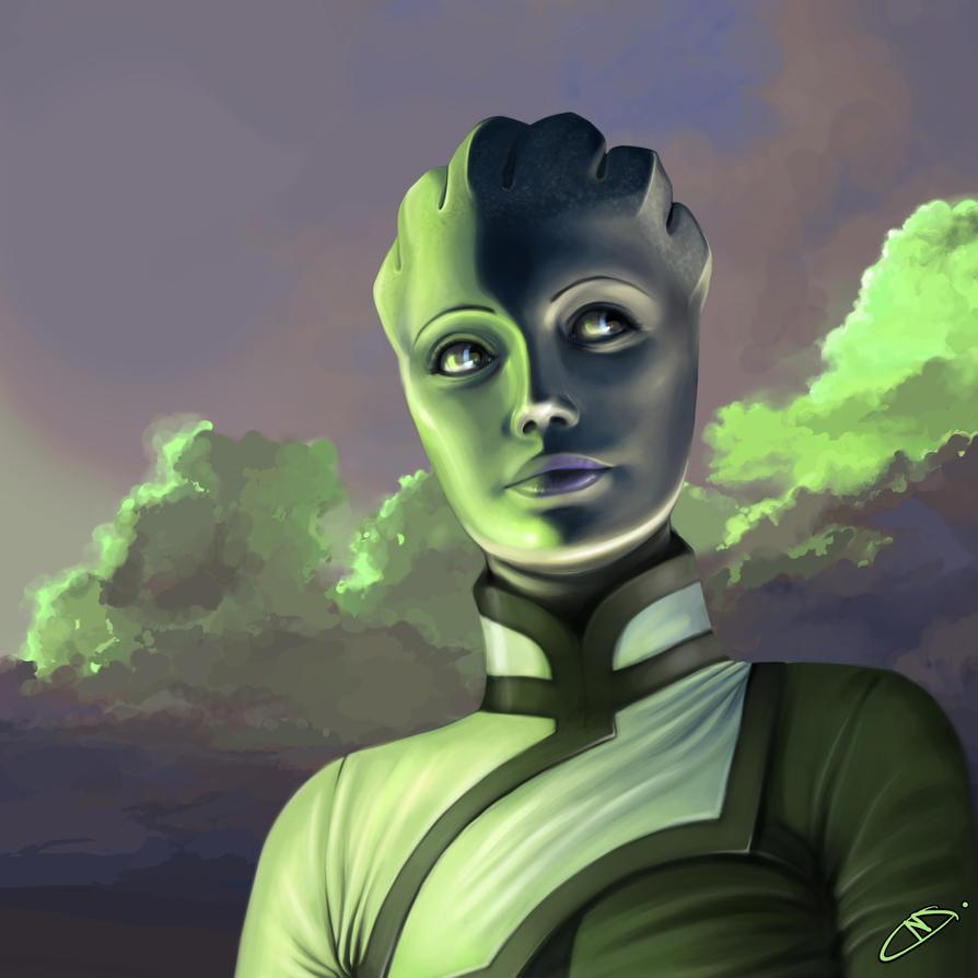 Green daybreak. by MarieGrey