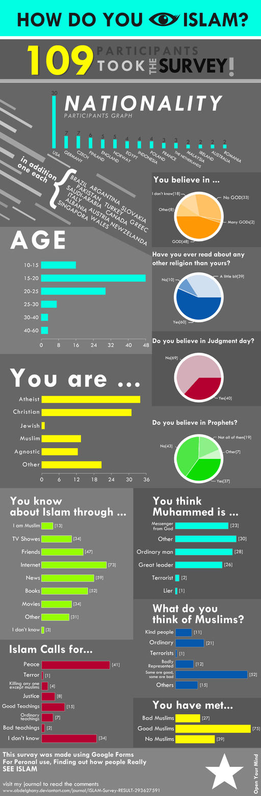 ISLAM SURVEY by abdelghany