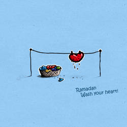 Ramadan, wash your heart by abdelghany