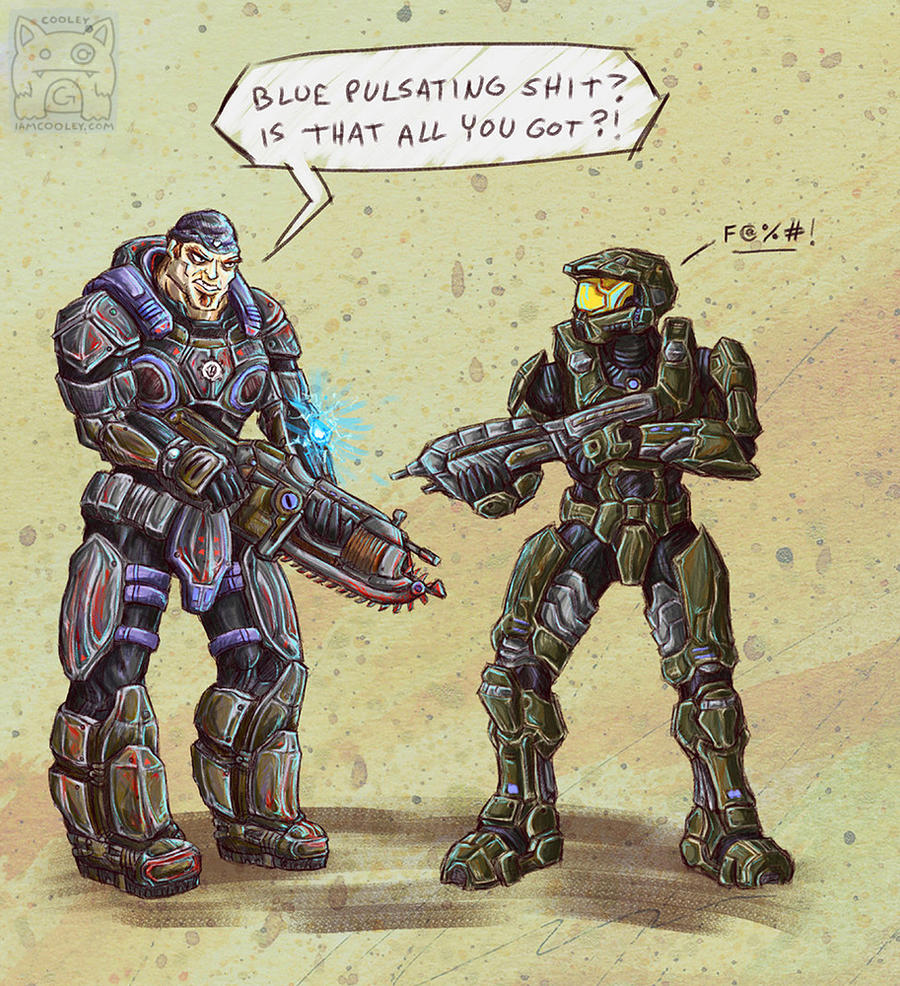 Fanat - Halo vs. Gears of War by cooley