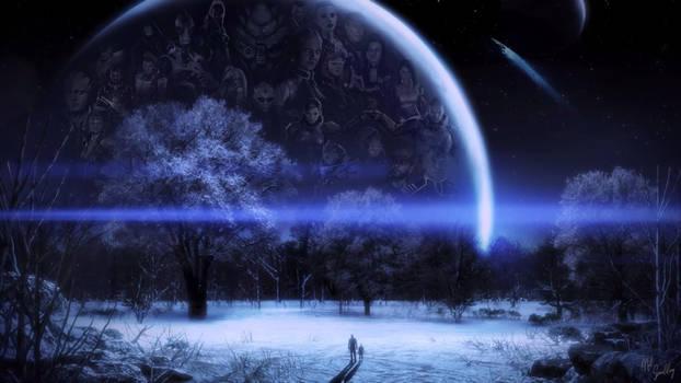 Mass Effect Poster 2560x1440