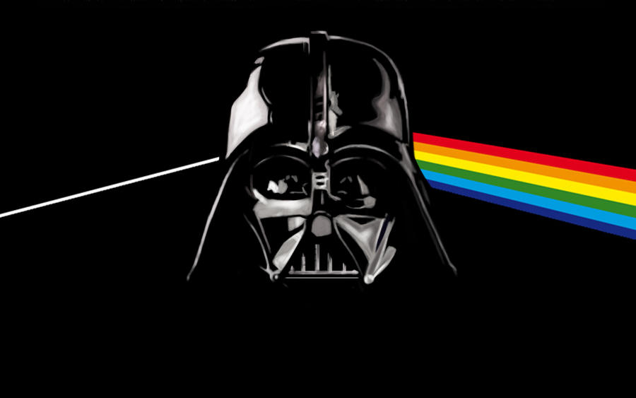 gallery for darth vader dark side of the moon wallpaper