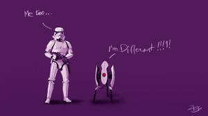 I'm different - Stormtrooper by z0h3