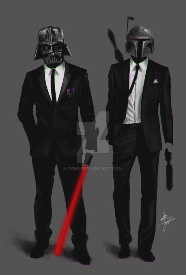 Men in black by z0h3