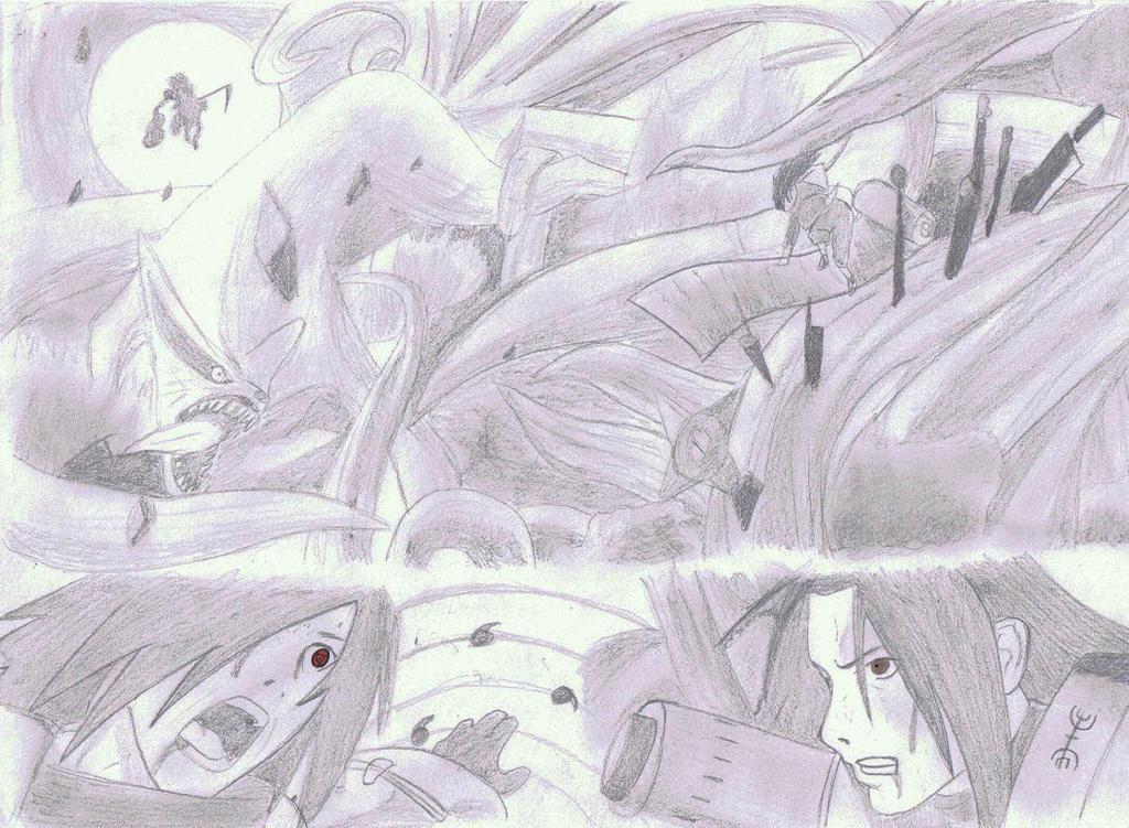 Madara vs Hashirama by MinatoUchiha4 on DeviantArt