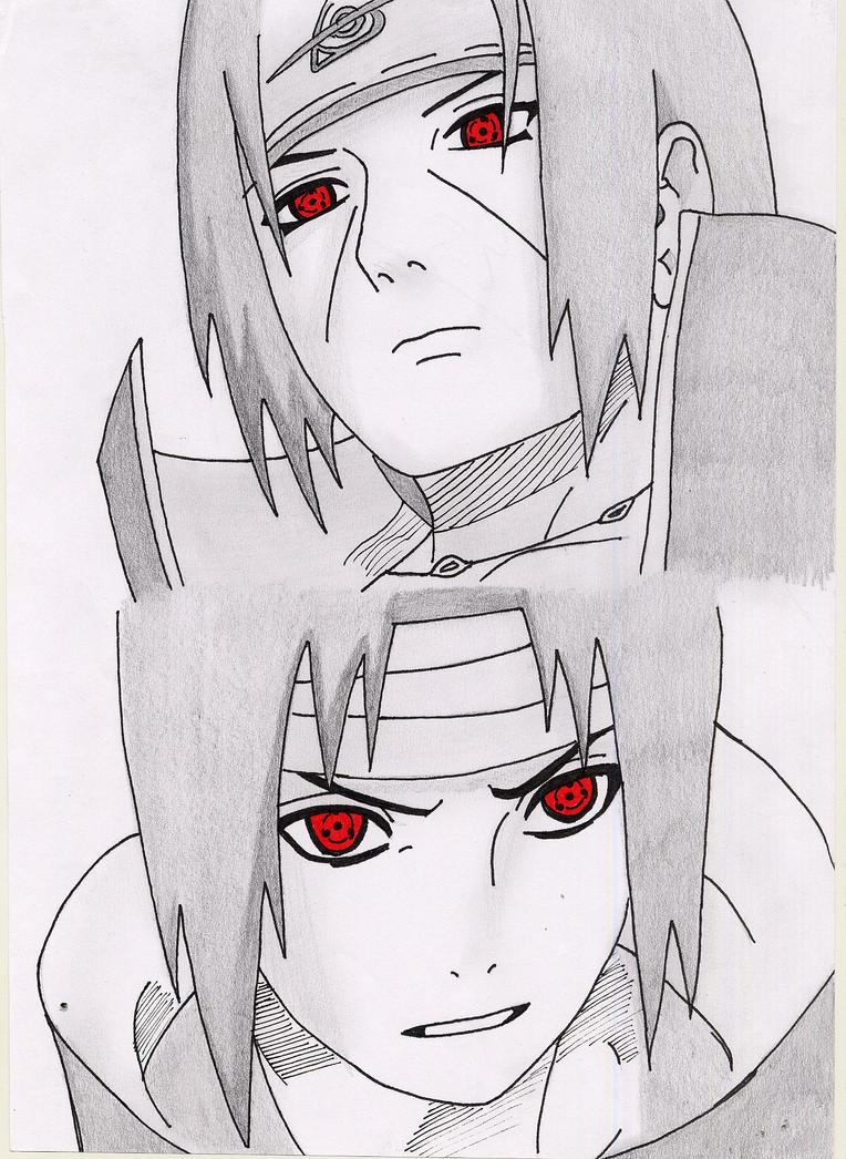 Madara Drawing In Pencil Itachi and sasuke draw...