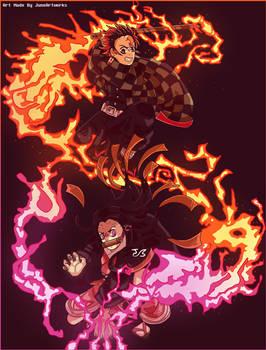 The Kamado Siblings [Demon Slayer]