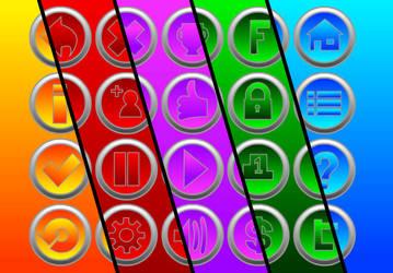 menu mobile games by Ma4eTA