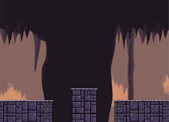 Catacombs (runner platformer)