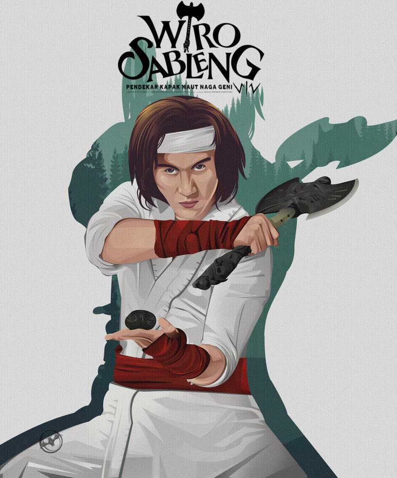 poster wiro sableng by kalongart