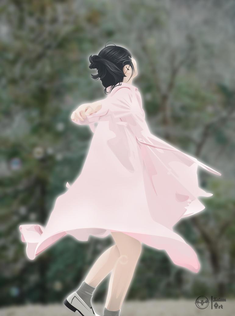 girl and dress by kalongart