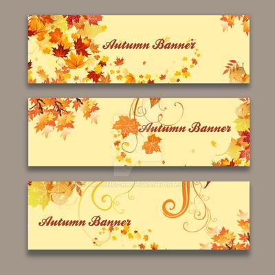Autumn Banner by kalongart