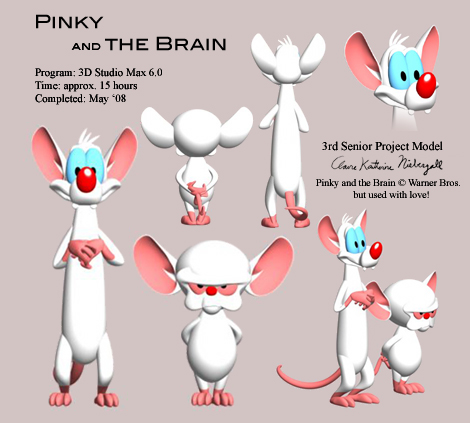 Pinky and the brain model by empresshelenia on deviantart pinky and the brain model by empresshelenia thecheapjerseys Images
