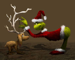 The Grinch, a la Horton by EmpressHelenia