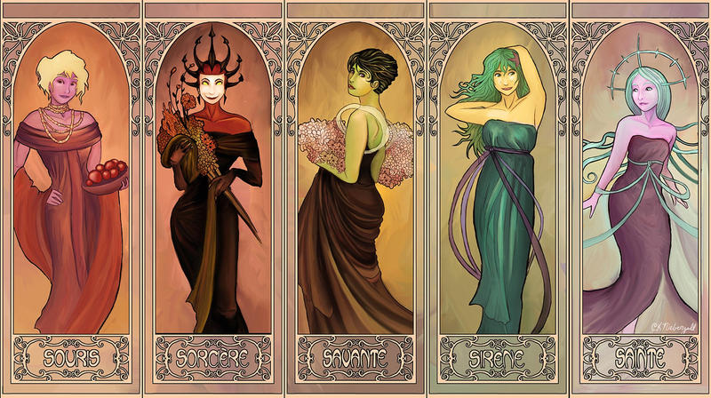 ReBoot Mucha - The Girls