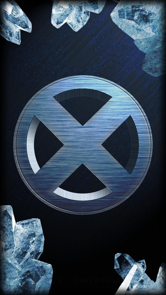 X-Men Logo - Iceman (Galaxy S4