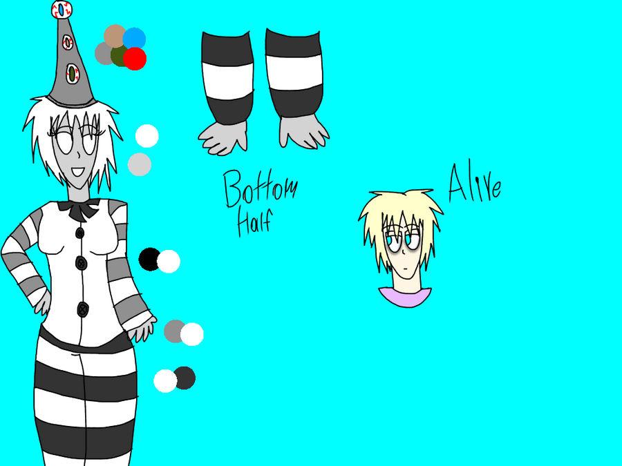 (Horror/Cp Oc.) The White Eyed Clown.