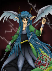 AT: Mech Dragon Girl by kojika
