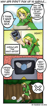 Why Hyrule Has no GPSs