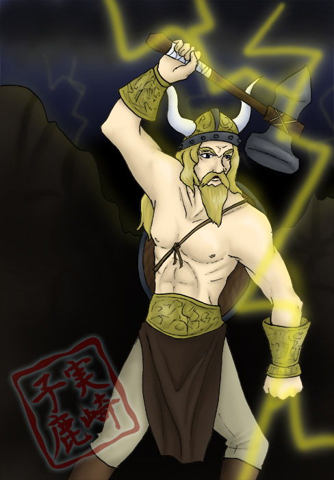 Commission: Thor by kojika