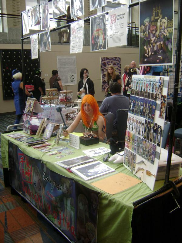AZ 11: Artist Alley table by kojika