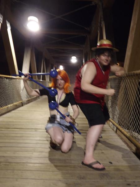 Battle on the Bridge by kojika