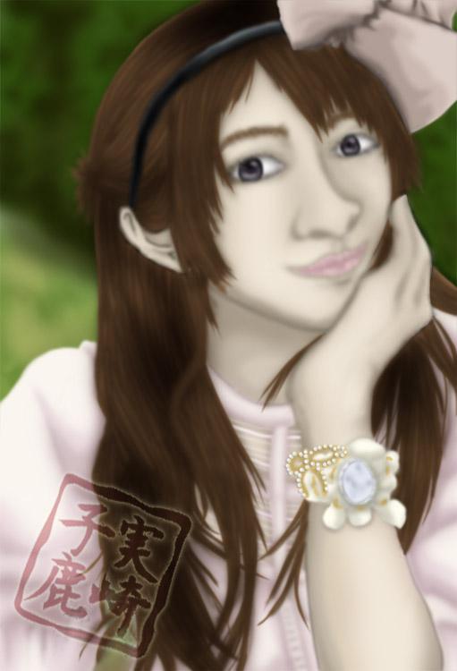 Nanri Yuuka Realism Attempt by kojika
