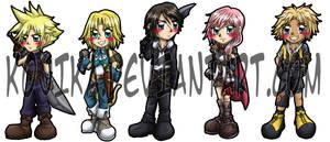Final Fantasy Bookmarks