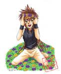 Gift Art: Goku