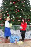 Christmas Shoot 2017- Saber and Rin