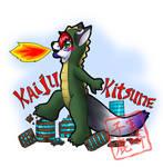 Commission: Kaiju Kitsune