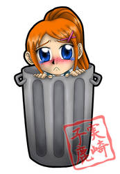 Kickstarter Reward: Trash Hina by kojika