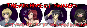 Archive of Sinners Button Preorder