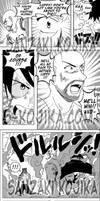 Commission: Luffy and Michael VS Lucci (Interior)