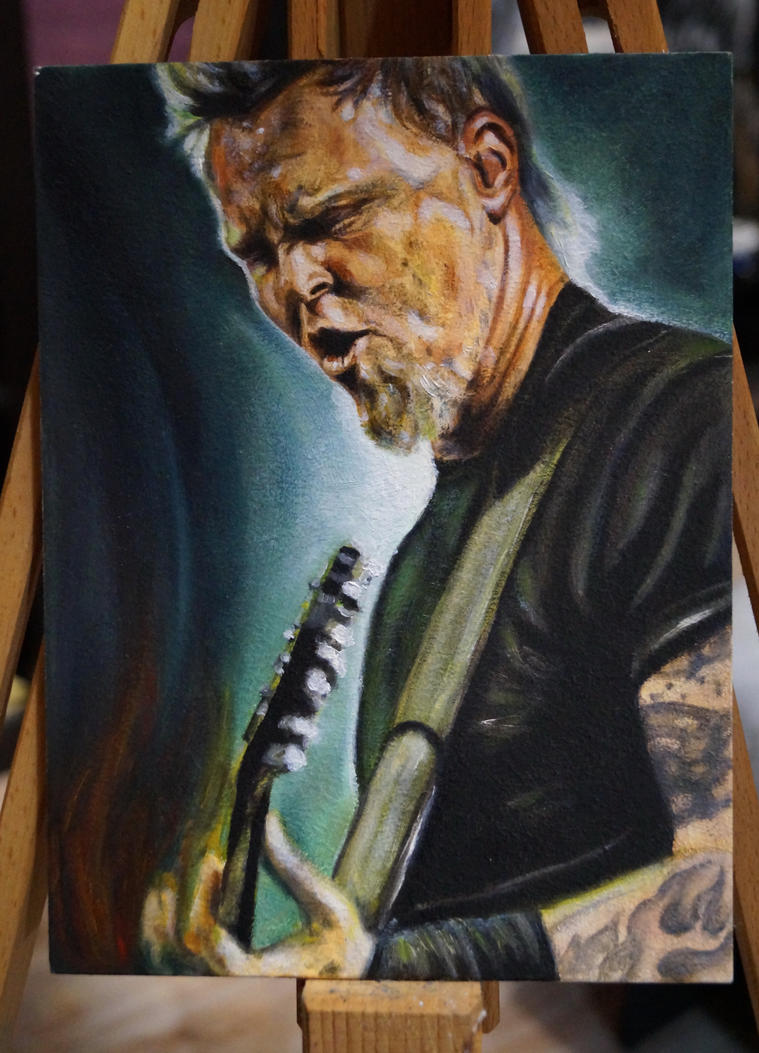 James Hetfield by OlesyaMelnichuk