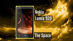 Nokia Lumia 920 The Space Wallpaper